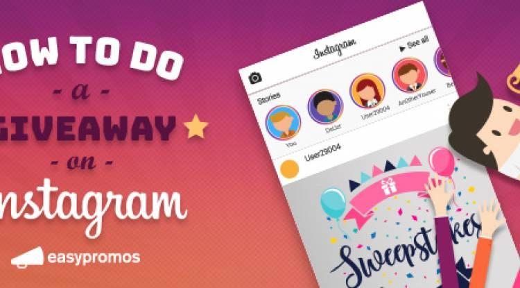 Как проходит giveaway в Instagram